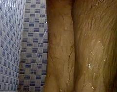 Indian Pinki bhabhi spying her husband Jeet straight away bathing