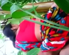 Outdoor aunty added to youthful tamil fellow fucking eighteen year old desi