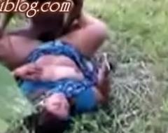Desi village bhabi outdoor sex with neighbor