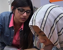 BJ Classes with Big Chest Arab Queen Mia Khalifa