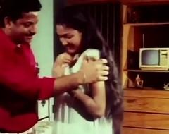 Telugu Hot Actress Hema aunty Romance in night dress earlydays - YouTube (720p)