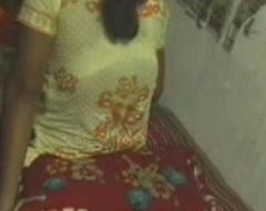 Indian desi devor-bhabhi having it away indestructible on bedroom - Wowmoyback