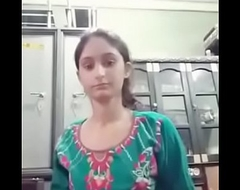 Indian cute girls self integument